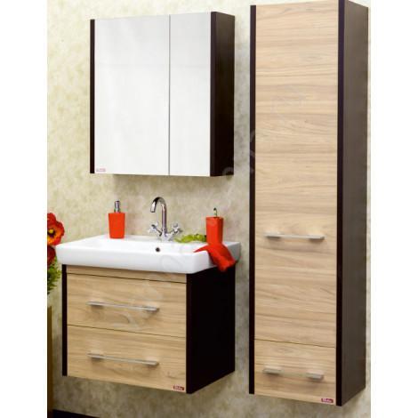 Комплект мебели Sanflor Ларго 70 подвесной купить в Москве по цене от 15906р. в интернет-магазине mebel-v-vannu.ru