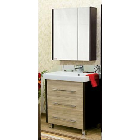 Комплект мебели Sanflor Ларго 80 купить в Москве по цене от 18370р. в интернет-магазине mebel-v-vannu.ru