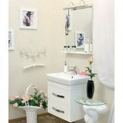 Комплект мебели Sanflor Одри 60 подвесной купить в Москве по цене от 15502р. в интернет-магазине mebel-v-vannu.ru