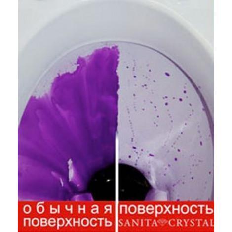 Унитаз подвесной Sanita luxe Attica luxe SL700002 без микролифта купить в Москве по цене от 3876р. в интернет-магазине mebel-v-vannu.ru