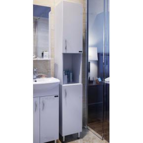 Пенал для ванной СанТа Стандарт 30 с нишей