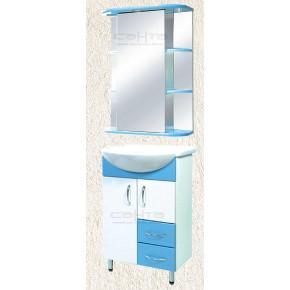Комплект мебели СанТа Уют 55 c 2 ящиками с подсветкой