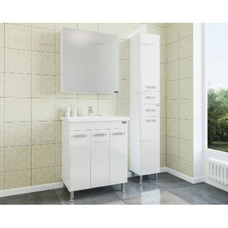 Комплект мебели Санта Ливерпуль 70 подвесной купить в Москве по цене от 24393р. в интернет-магазине mebel-v-vannu.ru