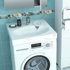 Раковина Луна 60х54 над стиральной машиной