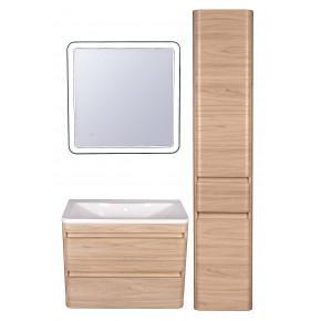 Комплект мебели Style Line Атлантика 80 Люкс Plus подвесной, ясень перламутр