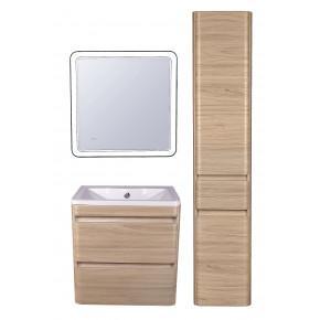 Комплект мебели Style Line Атлантика 60 Люкс Plus подвесной, ясень перламутр