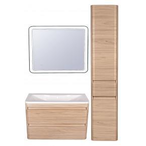 Комплект мебели Style Line Атлантика 100 Люкс Plus подвесной, ясень перламутр