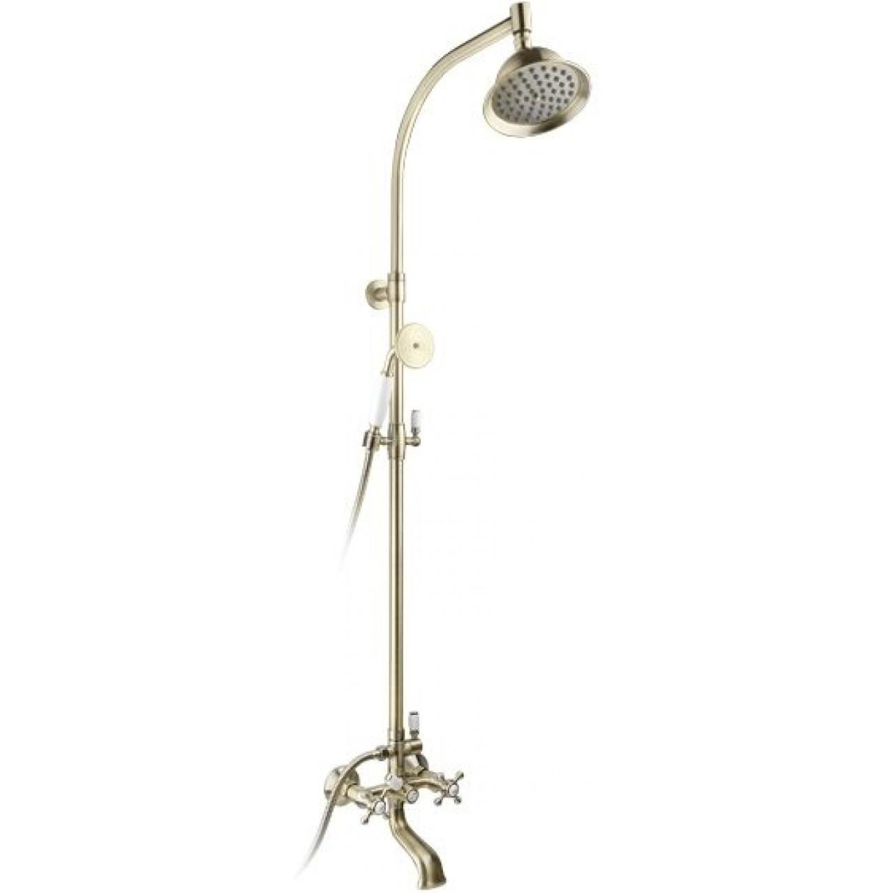 Душевая система Timo Nelson SX-1090 Antique купить в Москве по цене от 27620р. в интернет-магазине mebel-v-vannu.ru
