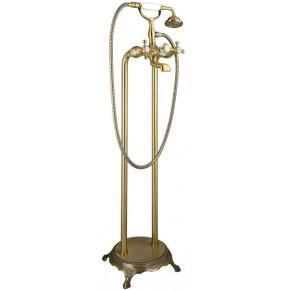 Смеситель Timo Nelson 1900Y-CR Antique для ванны и душа напольный