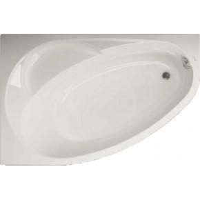 Акриловая ванна Vagnerplast Flora 150x100 L