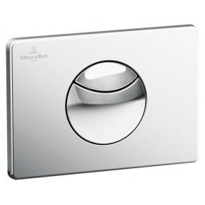 Кнопка смыва Villeroy & Boch Viconnect 9224 85 69 матовый хром 92248569