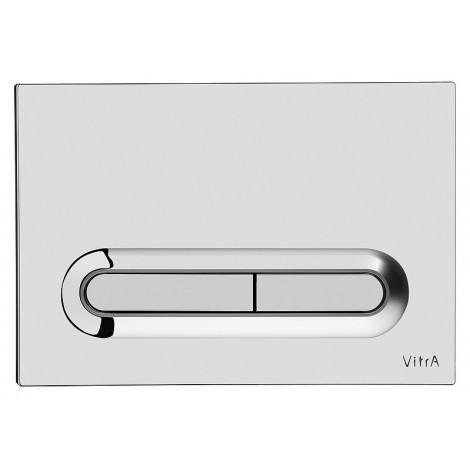 Кнопка смыва VitrA 740-0780 хром купить в Москве по цене от 1757р. в интернет-магазине mebel-v-vannu.ru