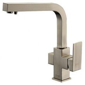 Смеситель Zorg Clean Water ZR 311 YF-Nickel для кухонной мойки