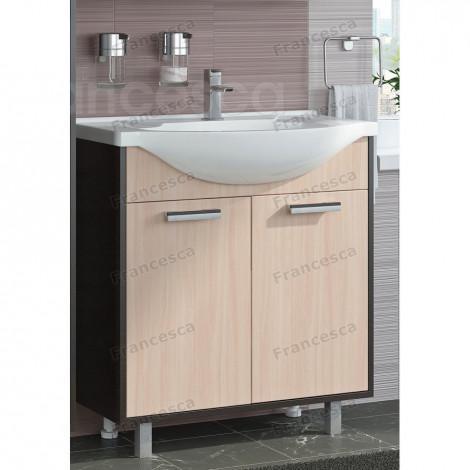 Комплект мебели Francesca Eco 75 дуб-венге купить в Москве по цене от 10510р. в интернет-магазине mebel-v-vannu.ru